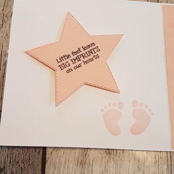 Innenseite Baby-Karte