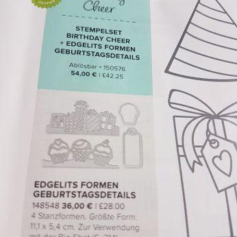 Edgelits Formen Geburtstagsdetails, 148548, 36,00 €
