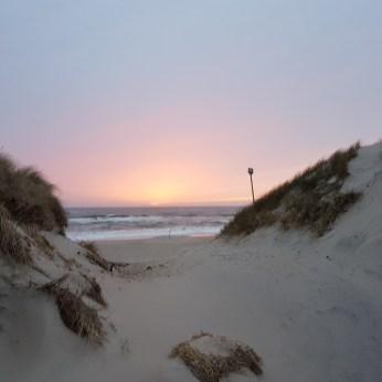 Sonnenuntergang bei Sondervig