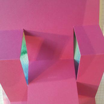 tri fold shutter card. P.Lemke