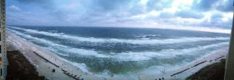Panama City Beach from Hotel Wyndham's Balcony