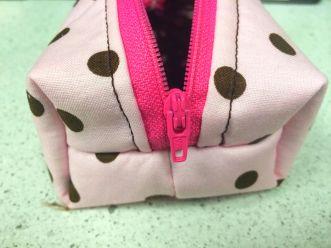 Mini Boxy Zipper Purse