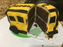 Cake when cut