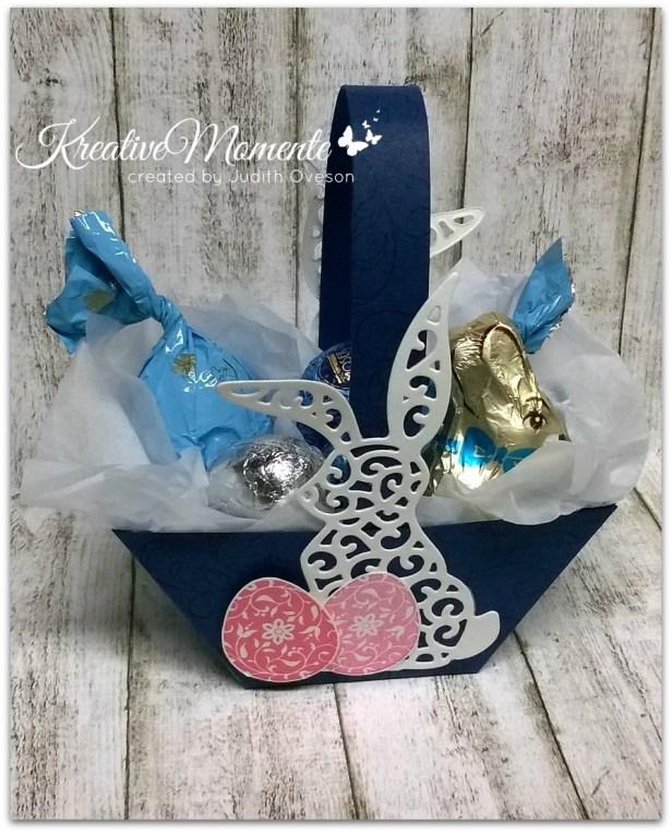 Osterkörbchen-blau