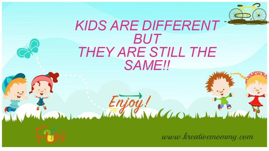 Types of kids