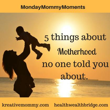 I wish I knew about motherhood