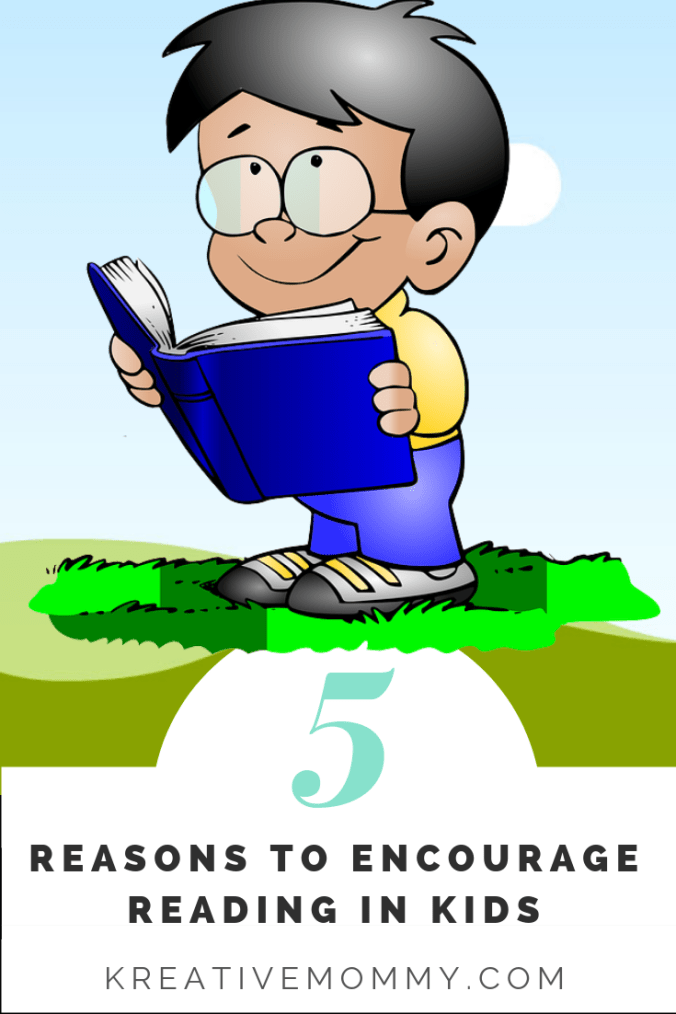 Habit of reading in kids