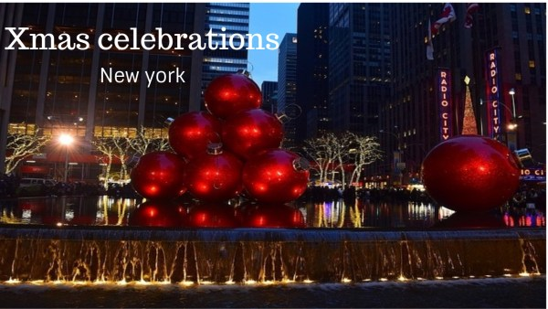 Xmas celebrations New York