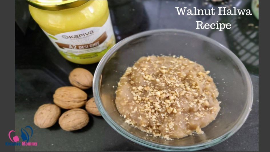 Walnut halwa recipe