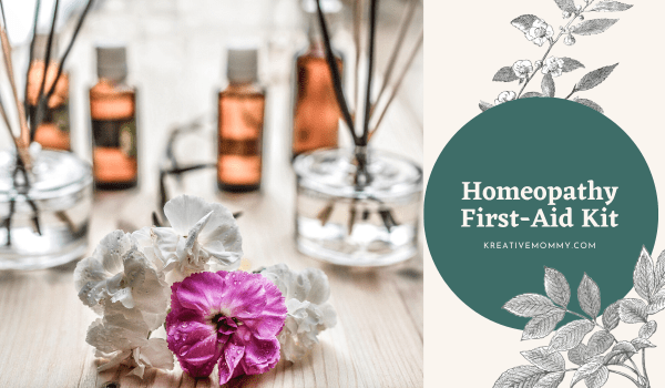 Homeopathy first aid kit