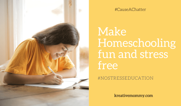 Homeschooling stress free and fun