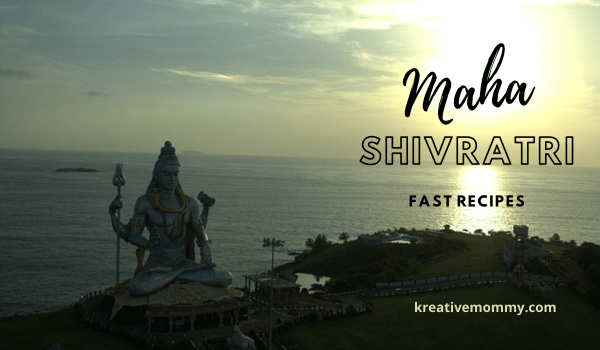 Mahashivratri fast recipes