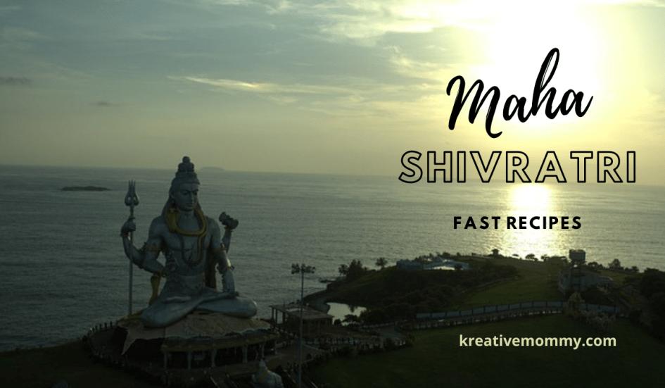 Mahashivratri fast recipes