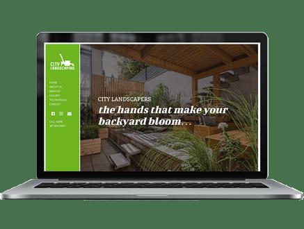 landscaper website template