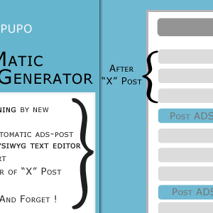 AutoPupo - Automatic Ads Post Generator Plugin