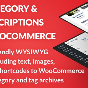 SEO Category and Tag Descriptions for WooCommerce