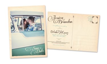 """5"""" x 7"""" Save the Date Postcards"""
