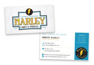 "3.5"" x 2"" Business Card Design"