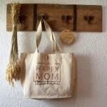 HAPPY MOM - Tasche mit Wunschname - Mama