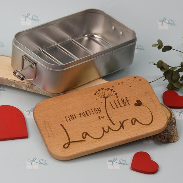 Lunchbox - Pusteblume personalisiert-3