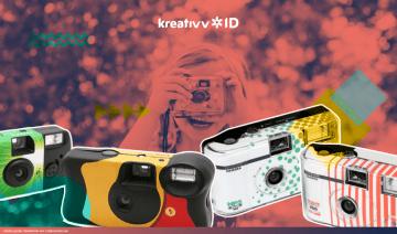 Serunya Memotret dengan Disposable Camera