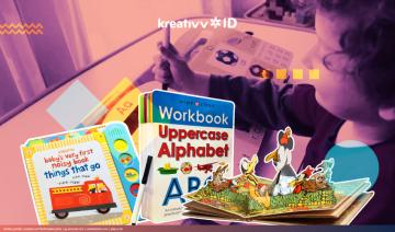 6 Jenis Buku Anak Unik Biar Si Kecil Gak Kecanduan Gadget