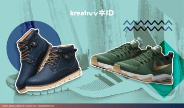 5 Jenis Sepatu Pria yang Membuatmu Tampil Modis
