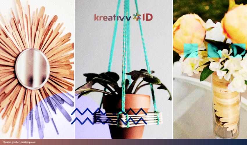 3 Kerajinan Dari Stik Es Krim Buat Meningkatkan Kreativitasmu Kreativv Id