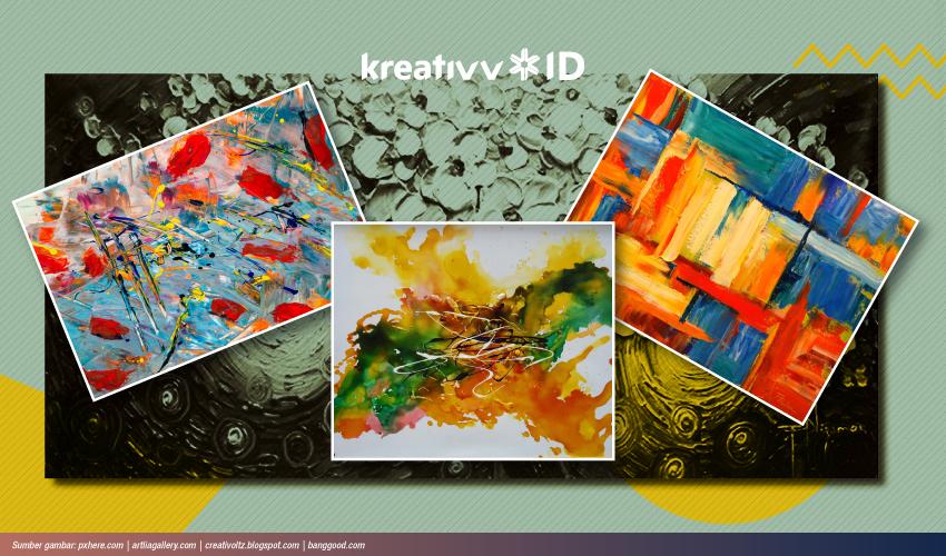 Mengenal Lukisan Abstrak Lebih Dalam