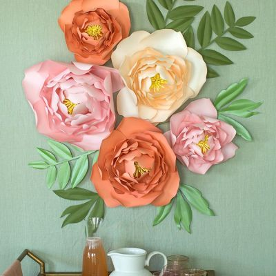 cara membuat bunga dari kertas 1