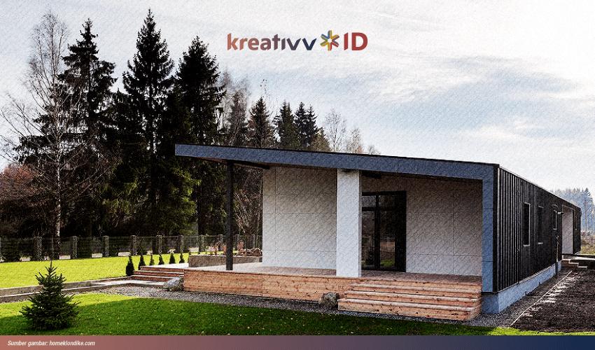 desain rumah mungil skandinavia