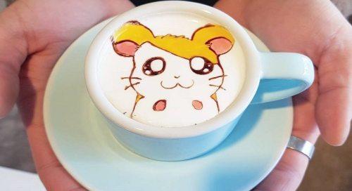 Cara Membuat Latte Art 9