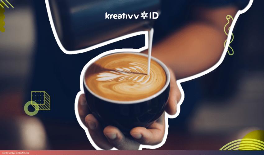 cara membuat latte art