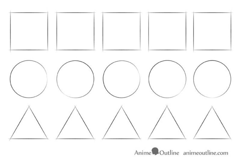Cara Menggambar Anime 3