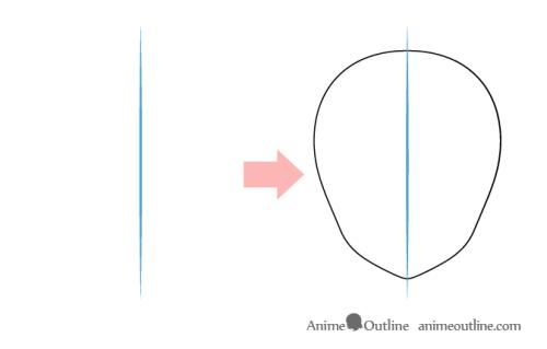 Cara Menggambar Anime 4