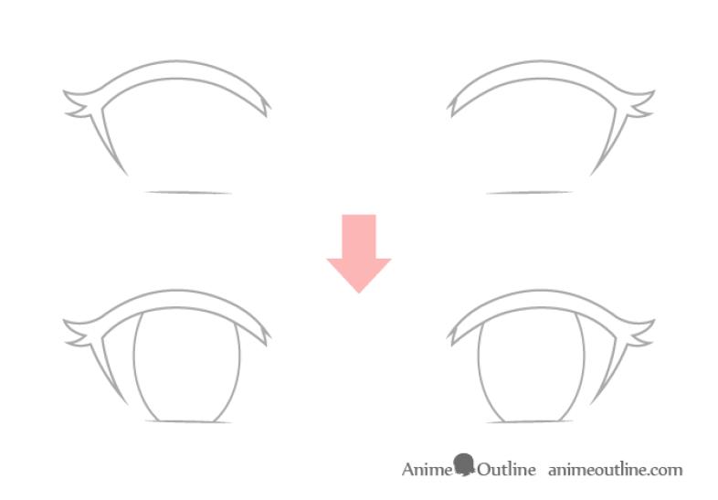 Cara Menggambar Anime 5