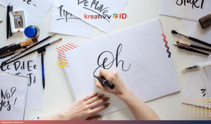 Belajar Cara Membuat Hand Lettering Untuk Pemula