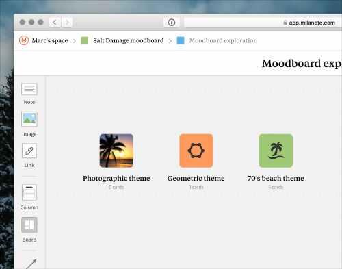 Cara membuat moodboard 2