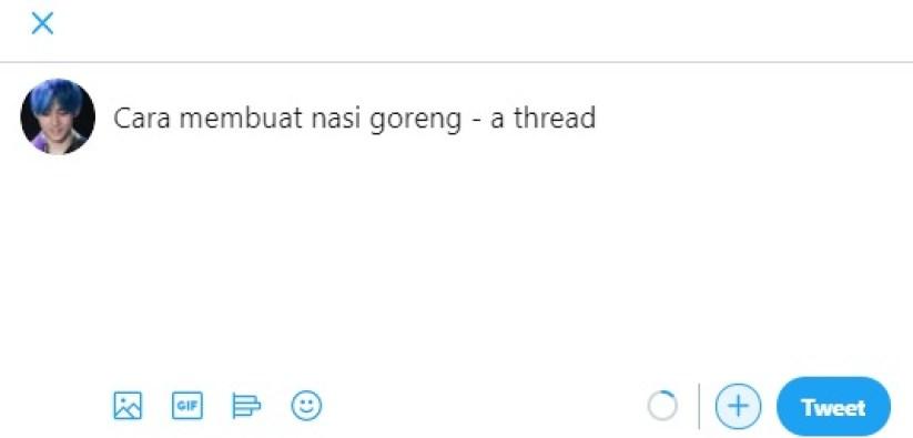 thread di twitter
