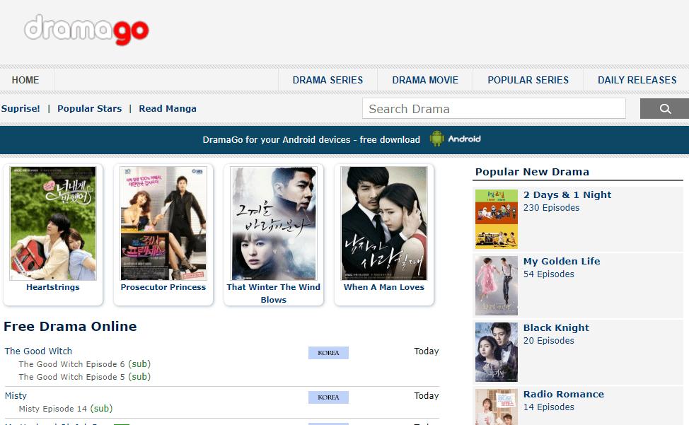 Situs nonton drama Korea 3