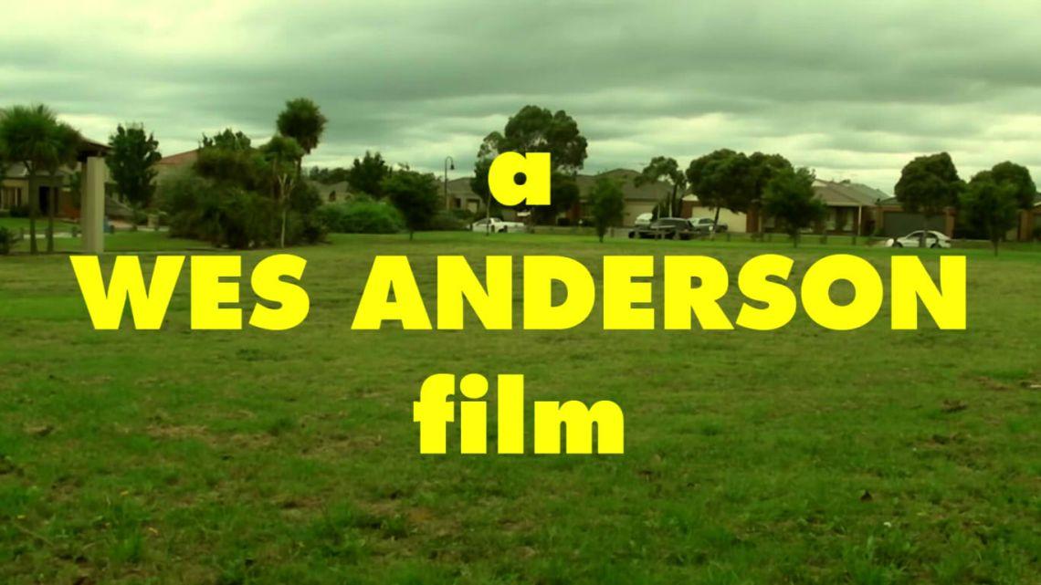 ciri khas film wes anderson