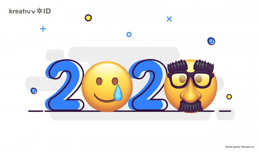 Mengintip Deretan Emoji 2020 Terbaru Ada Ninja Sampai Bubble Tea