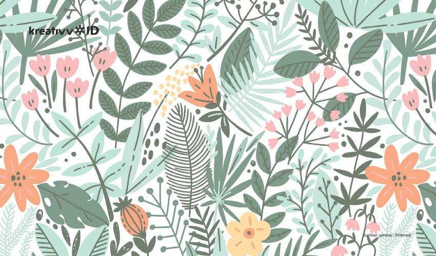 Cantiknya Ragam Hias Flora Dan Fauna Bikin Desain Makin Artistik
