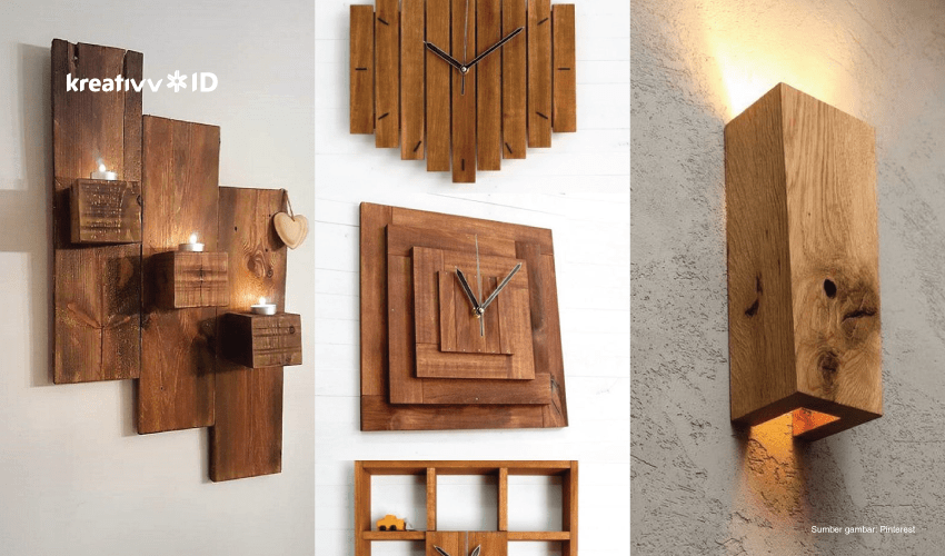 hiasan dinding kayu