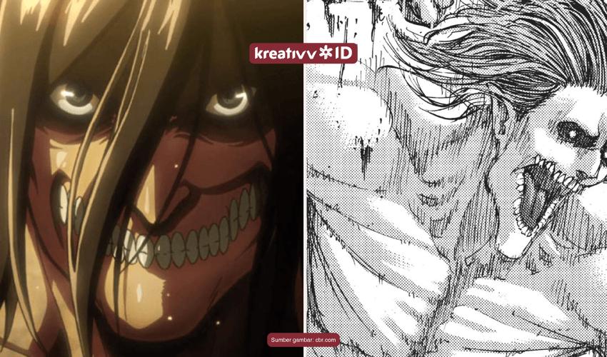ilustraasi anime vs manga