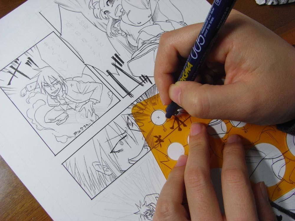 menggambar manga dan anime