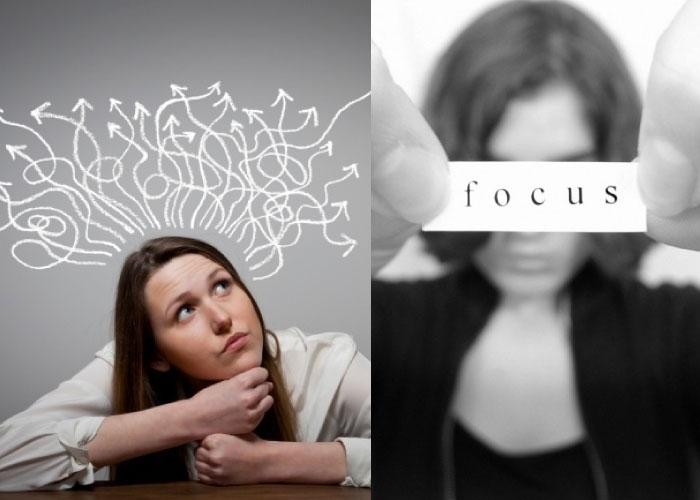 fokus pada pikiran