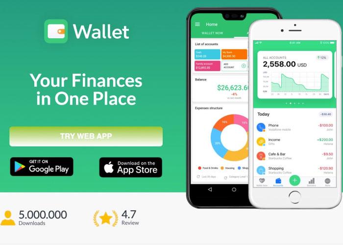 Wallet pada smartphone