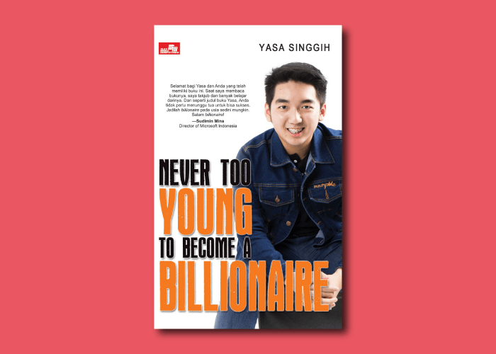 buku never too young to become a billionaire