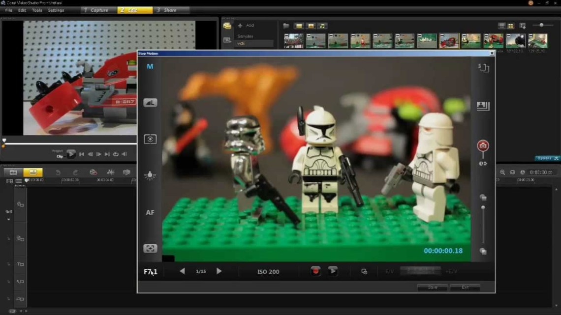 software stop motion